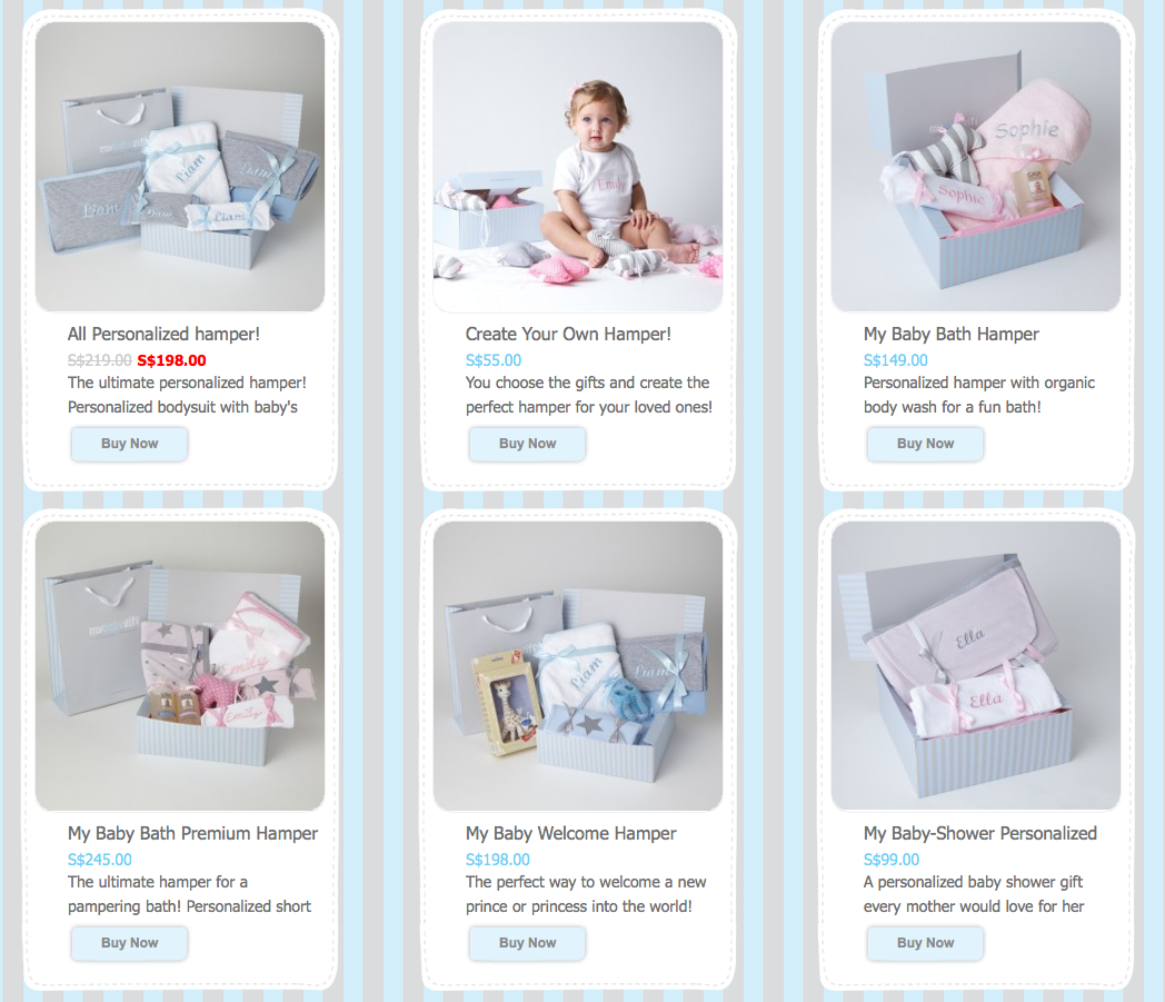Shop for Baby Gifts online at MyBabyGift!