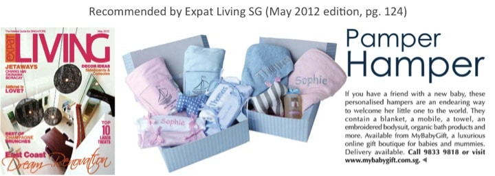 my baby gift singapore on expat living may 2012