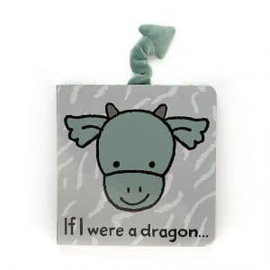 Jellycat-If i were a dragon book