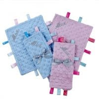 Personalized Minky Soother Blankie (20*25cm)